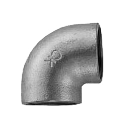 CK Fittings, Screw-in Malleable Cast Iron Pipe Fittings, Elbow with Band