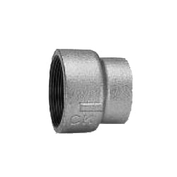CK Fittings - Screw-in Type Malleable Cast Iron Pipe Fitting - Socket with Different Diameters with Band
