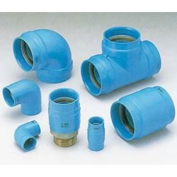 PC Core Fittings, for Lined Steel Pipe Connection, Unequal Diameter Tee