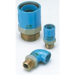 PC Core Fittings - for Fixture Connection - Fitting for Prevention of Contact Between Dissimilar Metals - Male Adapter Socket