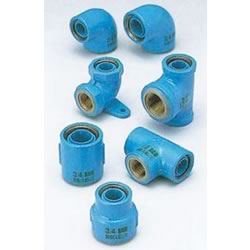 Core Fittings, for Appliance Connection, Dissimilar Metals Contact Prevention-Fittings, Water Faucet Elbow