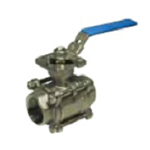 Stainless Steel Valve - CSH-PS High Ground Threaded Ball Valve