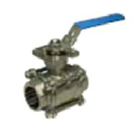 Stainless Steel Valve - CSH-SS High Ground Insertion Butt Weld Ball Valve