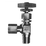 Stainless Steel SUS304 Miniature Valve, SMV-203, Elbow Type