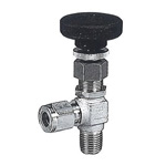Stainless Steel SUS316 VE, Miniature Valve, (Elbow Type)