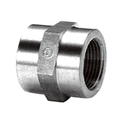 High-Pressure Screw Fitting, 111SS Round Socket, S25C