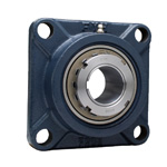 Cast Iron Square Flange Type Unit, Adapter Type, UKF (Adapter Sold Separately)