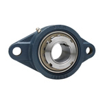 Cast Iron Rhomboid Flange Type Unit, Adapter Type, UKFL (Adapter Sold Separately)