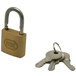 Stainless Steel W Lock Padlock, Same Key