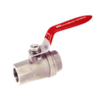 Stainless Steel Ball Valve, TSS Series, Lever Handle Type, Oil-Free Processing