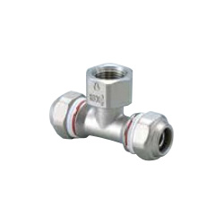 Mechanical Fitting Water Faucet T for Stainless Steel Pipes