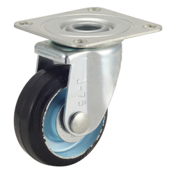 Medium-Load Caster, G-WJ Model, Rubber Wheel, with Swivel Fittings