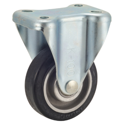 Tow Cart Caster, TR-AWK Type, Aluminum Core Type, Includes Fixture