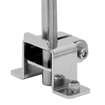Sensor Bracket, Stainless Steel/Mounting Base, Vanbrugh Base S
