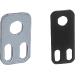 Sensor Bracket, Single Plate Type, for Proximity Sensor (Screw Type), Straight Type