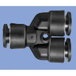 Junron One Touch Fitting M Series (for General Piping) Reducing Union Y