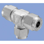 Junron inoxidable Fitting US2 Series Union Tee para tubos flexibles
