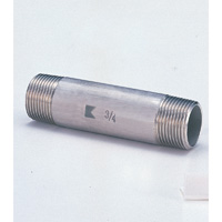 Stainless Steel Dual Long Nipple Fittings - Screw-in