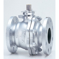 General Purpose Ductile Iron 10K Ball Valve Flange