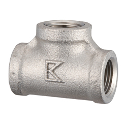 Stainless Steel Tees Screw Fitting