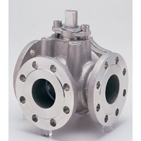 Stainless Steel General-Purpose 10K Ball Valve (Three-Sided) Flange