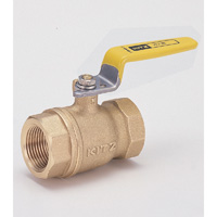 General Gas Pipe Brass Ball Valve Screw-in