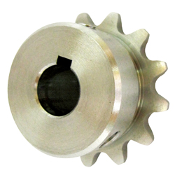 SUSFBN25B Stainless Steel Finished Bore Sprocket