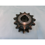 50SD Single/Double Sprocket, Semi F Series, with Machined Shaft Holes (New JIS Key)