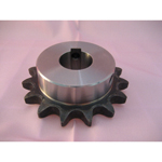 Standard 2040 Double Pitch Sprocket, S Roller B Type, Semi F Series, Shaft Holes Already Established (New JIS Key)