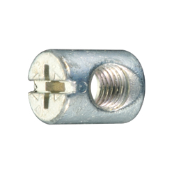 Joint Connector Round Nut - Cross/Straight Slot