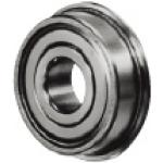 Small Deep Groove Ball Bearings - Double Shielded with Flanged