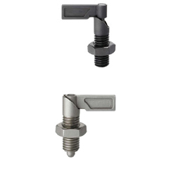 Indexing Plungers- Coarse Thread Lever Type