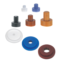 Resin Washers - Flanged - Configurable D(O.D), V(I.D) and L(Length) in 0.5mm or 1mm increment
