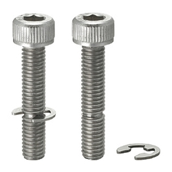 Socket Head Cap Screws with Retaining Ring Groove