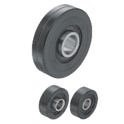 Urethane Molded Bearings - Extended Inner Race (for Light Load)