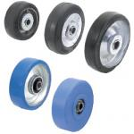 Replacement Wheels for Casters - Rubber Wheel