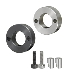 Shaft Collars - Insert Lock Type - 2 Holes/ Threads