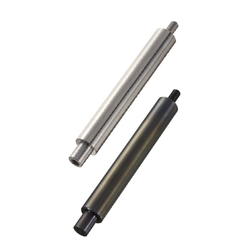 Precision Linear Shafts - One End Stepped and Tapped One End Threaded