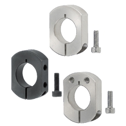 Shaft Collars - Two Flat Cuts