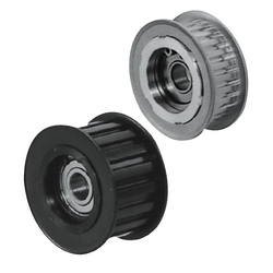 Flanged Idlers with Teeth -Both Sides Bearing Type- 2GT / 3GT / 5GT / 8YU