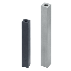 Square Posts - Both Ends Tapped