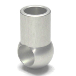 Round Pipe Joint, Same-Diameter Hole, Cross End L Shape