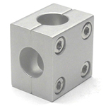 Round Pipe Joint, Same-Diameter Hole, 2-Split Cross Shaped