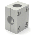Round Pipe Joint, Different-Diameter Hole, 2-Split T Shape