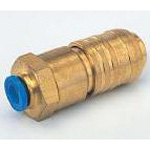 Q.D.C. 101 Series Coupler Push-Type 101C4-E