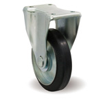 Steel Plate Caster, Fixed, Includes K Fitting, F/K