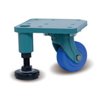 Casters with, Adjuster, L-75