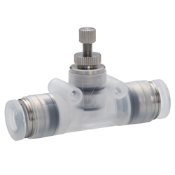 Throttle Valve Polypropylene Type Union Straight for Clean Environment