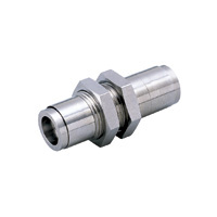 Tube Fitting Plus Bulkhead Union para resistencia a la salpicadura