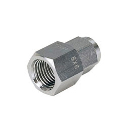 Corrosion Resistant SUS316 Compression Fitting Female Straight